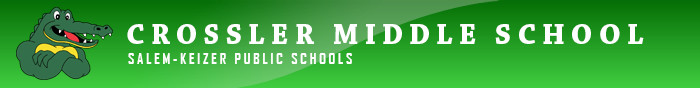 Crossler Middle School Retina Logo