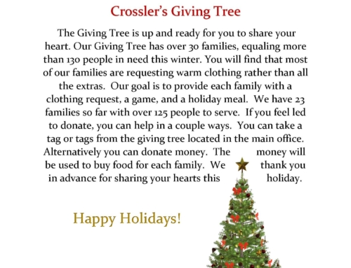 Crossler's Giving Tree